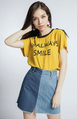 Picture of women's short sleeve shirt MS 16B6174