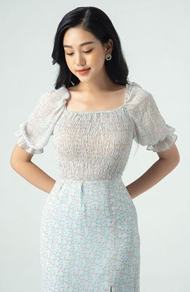 Picture of Two-layer flower dress